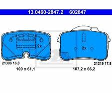 ATE Bremsbeläge Belagsatz Bremsklotz   Audi V8 -94 13.0460-2847  ATE 13.0460-28