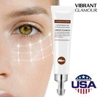 VIBRANT GLAMOUR 20g Anti-Wrinkle Eye Cream Eye Bag Remover Firming Anti-aging US