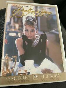 Breakfast At Tiffanys DVD Movie Audrey Hepburn - AUSTRALIAN REGION 4 PAL RELEASE