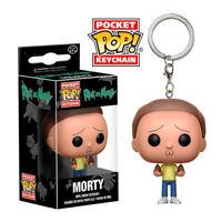 Morty Pocket Pop Keychain Official Rick and Morty Funko Pop Vinyl Keyring