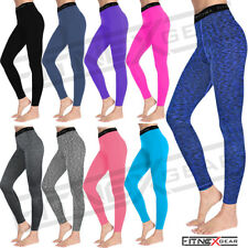 Ladies Womens Compression Tights Yoga Running Gym Thermal Trousers Casual Wear