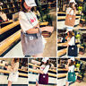 Casual Large Capacity Corduroy Shopping Shoulder Bag Women Travel Tote Handbags
