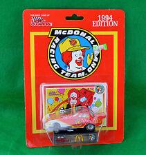 Racing Champions McDonaldland Racing Team 1994 Edition Funny Car Stand Card MOC