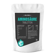 Aminosäuren Komplex - 1000 vegane Tabletten Zum Muskelaufbau Hochdosiert 1000mg