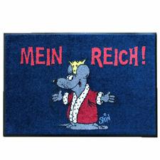 Türmatte Waschbare Fußmatte ©Uli Stein - Maus - Mein Reich! - 50x75cm wash+dry