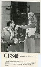 PAUL ANKA KISSES SUZANNE SOMERS HAND VESPA CYCLE MONTE CARLO 1978 CBS TV PHOTO