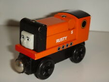 Thomas & Friends Wooden Railway Train RUSTY