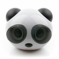 Portable Panda Mini USB Speakers For Laptop, Notebook & PC