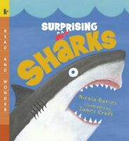 Surprising Sharks, Paperback by Davies, Nicola; Croft, James (ILT), Brand New...