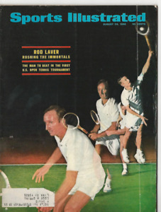 1968 AUG 26th SPORTS ILLUSTRATED MAGAZINE U.S. OPEN TENNIS PLAYER ROD LAVER
