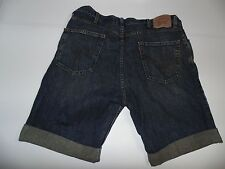 """UOMO LEVI'S STRAUSS JEANS SHORTS 40 """" - blu scuro jeans Festival #261"""