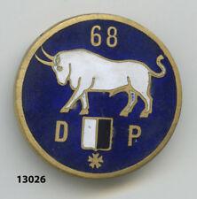 Insigne infanterie  , 68  Rgt. Régionnal  /   Défense Passive