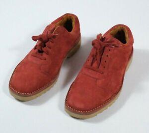 Cole Haan Red Suede Sneakers Sz 9.5C F1618