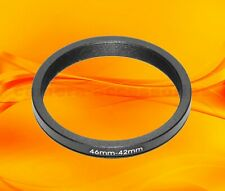 46mm to 42mm 46-42 Stepping Step Down Filter Ring Adapter 46-42mm 46mm-42mm (UK)