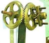 Renvois angle horloge regulateur uhr clocher comtoise gare tower clock turmuhr G