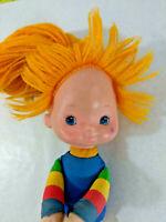 Vintage Plush Doll 1983 Hallmark Rainbow Brite ~ No Dress ~ Ships FREE