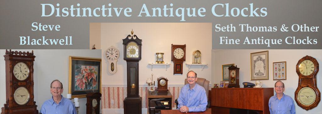 Distinctive Antique Clocks
