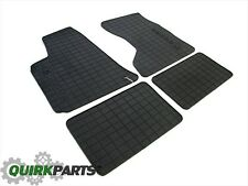 2005-2010 DODGE CHARGER AWD RUBBER SLUSH MATS FRONT AND REAR SET OEM NEW MOPAR