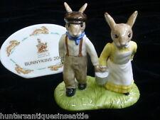"Royal Doulton Bunnykins ""Jack And Jill"" Figurine DB-222"