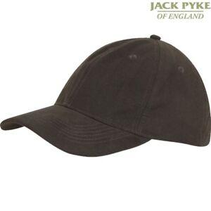 JACK PYKE ASHCOMBE BASEBALL HAT MENS WATERPROOF BROWN CAP HUNTING SHOOTING