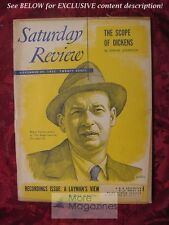 Saturday Review November 29 1952 ROBERT CARSON EDGAR JOHNSON DALE WARREN