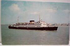 Oostende Dover Pakketboot Postcard