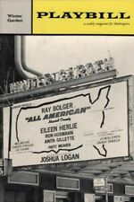 """Ray Bolger """"ALL AMERICAN"""" Eileen Herlie / Charles Strouse 1962 Broadway Playbill"""