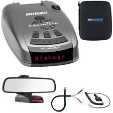 New listing Beltronics Rx65 Red Professional Series Radar/Laser Detector w/ Mirror Mount Kit