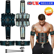 Abdominal Belt ABS Muscle Stimulator Hip Muscular Trainer Toner Gym Fitness New