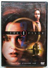 The X files stagione 2 due 7 DVD Cofanetto da collezione italiano Molder Skully