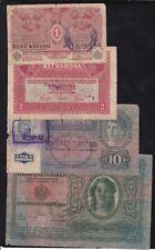 Yugoslavia - Shs - 4 Banknotes - Kronen/Korona - With Seal -