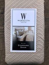 "Wamsutta Bliss Standard Pillow Sham Champagne 20"" x 26"" | NEW!"