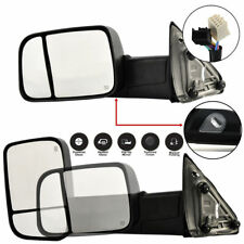 New CH1320315 Left Power Operated Towing Mirror For Dodge Ram Trucks 2009-2012