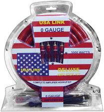0 Gauge Amp Wiring Kit W/ RCA