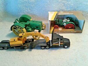 Blueprint Replica Toys John Deere Overtime Tractor JD Model D Semi w Excavator