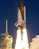 New 8x10 NASA Photo: Launch of Space Shuttle Atlantis Mission STS-115