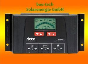 Solarladeregler Steca Solarix 4040 12/24V mit LCD Display und USB Buchse