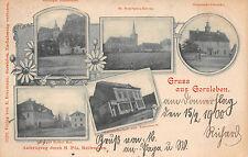 Gorsleben Gasthof Rittergut Rother Hof , Gemeinde Schenke Postkarte 1900