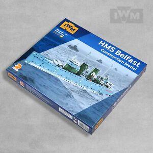 IWM HMS Belfast Ship Metal Construction Model Toy Set (911)