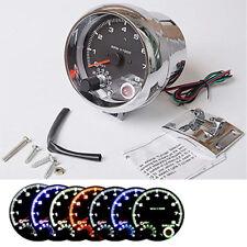 "3.75"" 95mm Car Tachometer Gauge 7 Color Tacho Meter Range 0-8000 RPM Shift Light"