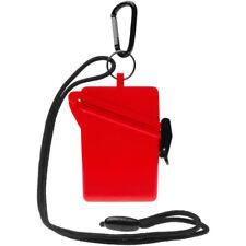 Witz Surfsafe Lightweight Waterproof Sport Case w/ Lanyard & Carabiner - Red