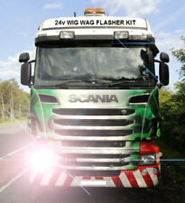 24V Wig Wag Car Alternating Headlight Flasher Kit - WITH FUSE!