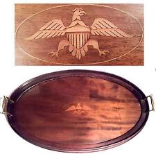 Antique Federal Eagle Serving Tray Platter Patriotic Revolutionary War Americana