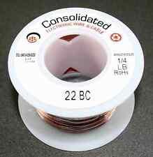Copper Buss Wire 1/4lb Spool -  22Gauge     ( 29W034 )