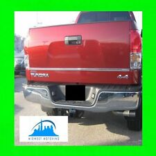 FOR TOYOTA TUNDRA 2007-2014 CHROME TRUNK TAILGATE TRIM MOLDINGS 2008 2009 2010