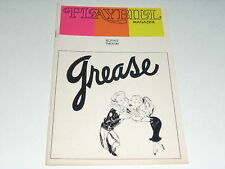1973 PLAYBILL GREASE JEFF CONAWAY ILENE GRAFF J ZAKS