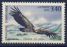 TIMBRE ANDORRE NEUF** N° 421 FAUNE VAUTOUR OISEAUX