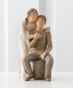 Willow Tree 26439 -  You and Me Love Couple Figurine - NEW  FREE P&P