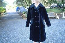 Vintage O'llegro Si by Glenoit Coat Faux Fur/Karakul Coat. Made by ILGWU! Med/S
