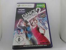 XBOX 360 X box KINECT Spiel: Dance Central 2 neuwertig OHNE Kinect mehr Songs